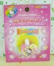 【震撼精品百貨】Hello Kitty 凱蒂貓~KITTY磁鐵-發亮粉色