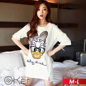 亮片鴨子圖案短袖T恤 M-L O-ker歐珂兒 16707