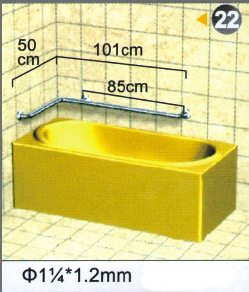 """不銹鋼安全扶手-22 (1.2""""*1.2mm)50cm*101cm扶手欄杆 衛浴設備 運費另問"""