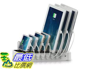 [美國直購] Satechi 白色 集線器 充電器 7-Port USB Charging Station Dock (iPhone 6 6s ipad pro)
