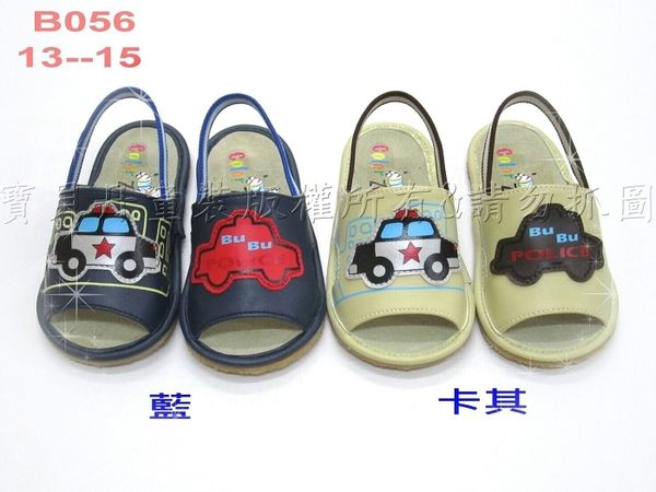 ☆╮寶貝丹童裝╭☆ 台灣製造 車車 不對稱 設計 涼鞋 男女兒童款 BABY涼鞋 防滑涼鞋 現貨