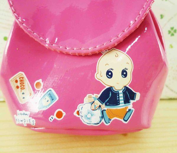 【震撼精品百貨】Q比_Kewpie~背包造型零錢包-桃購物