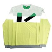 【KENZO】k LOGO長袖上衣(拼色) F655PU2223LB 93
