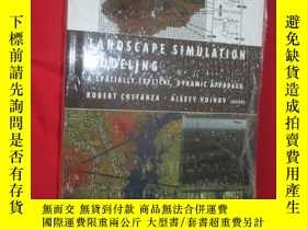 二手書博民逛書店Landscape罕見Simulation Modeling: