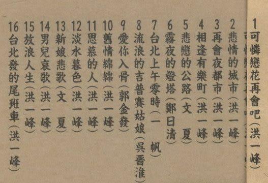 台灣歌謠傳奇5  CD (音樂影片購)