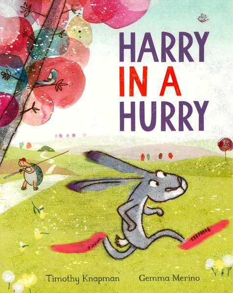 【英國繪本】HARRY IN A HURRY 《主題: 品格教育.禮貌.情緒》