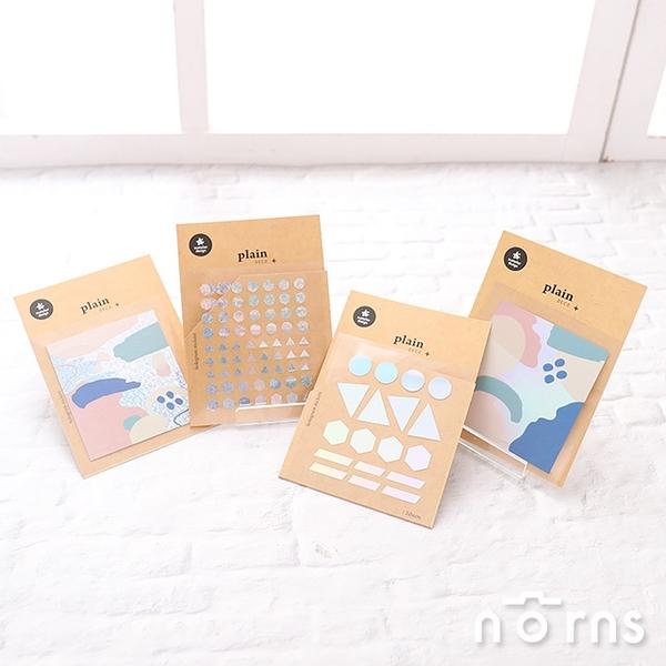 【Suatelier Plain deco P2】Norns 韓國鐳射貼紙 hologram sticker手作 手帳貼紙 masking紙膠帶