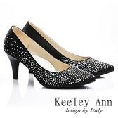 ★零碼出清★ Keeley Ann 美豔動人~水鑽唯美質感高跟鞋(黑色)