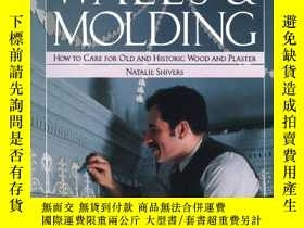 二手書博民逛書店WALLS罕見& MOLDING How to Care for