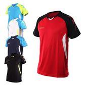 ASICS 男排羽球短袖T恤(免運 排球 羽球 訓練 亞瑟士≡排汗專家≡