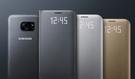 三星原廠配件  -SAMSUNG  Galaxy S7 LED 皮革翻頁式皮套 側掀式保護套 G930