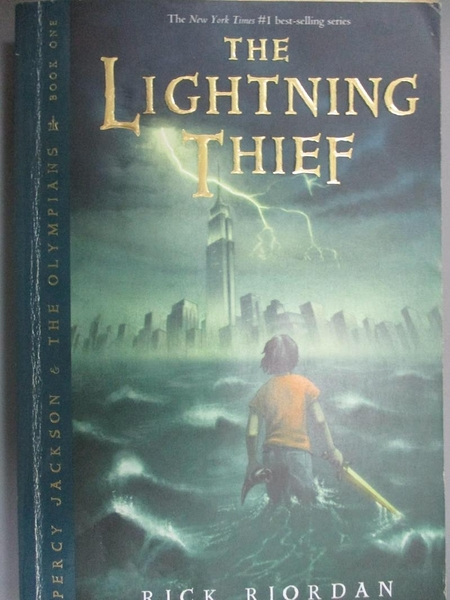 【書寶二手書T1/原文小說_KLK】The Lightning Thief_Riordan