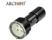 ARCHON 奧瞳 D32VR 潛水手電筒LED手電筒潛水補光燈潛水燈紅白兩光