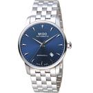 MIDO美度永恆系列午夜藍機械男錶 M86004151 鋼帶