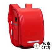 國小雙肩後背包書包小學生男女童雙肩減負防水皮書包箱體式書包【君來佳選】