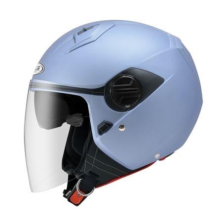ZEUS瑞獅安全帽,ZS-213,素/消光細銀淺藍