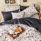 床包兩用被組 / 雙人加大【水墨回憶】含兩件枕套  100%精梳棉  戀家小舖台灣製AAS315