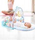 嬰兒健身架嬰兒腳踏鋼琴健身架器嬰幼兒3個月寶寶益智早教兒童玩具0-1歲男孩 JD 寶貝計畫