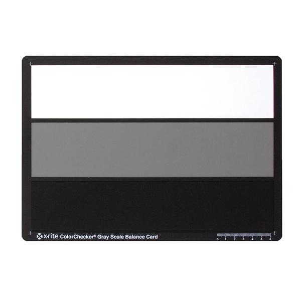 又敗家X-Rite ColorChecker灰階卡Gray Scale Card 18%灰卡色彩校正白平衡卡M50103