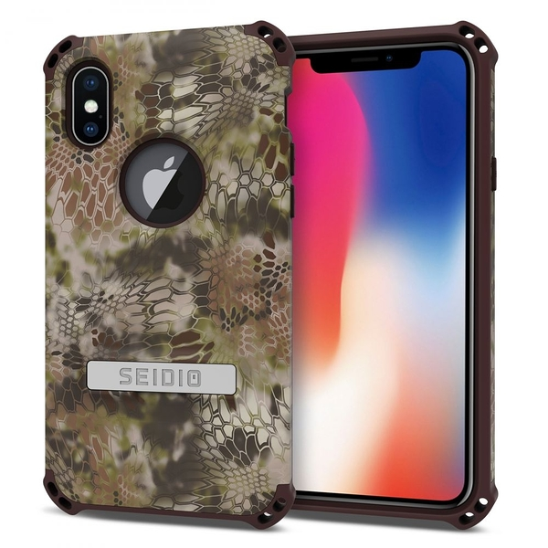 SEIDIO DILEX™ x KRYPTEK 軍規級四角防摔手機保護殼 for Apple iPhone X/XS