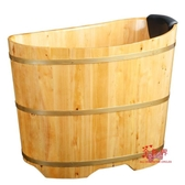 洗澡木桶 泡澡成人木桶小戶型浴室家用全身洗澡盆兒童大人全身香柏實木浴桶T