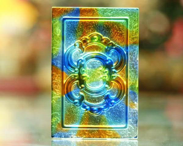 鹿港窯~居家開運琉璃磚【如意環S】 附古法製作珍藏保證卡◆免運費送到家