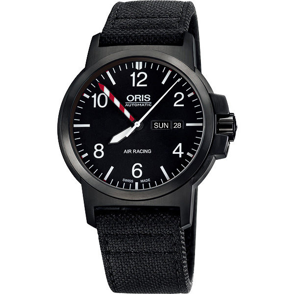 ORIS 豪利時 Air Racing Edition III BC3限量機械手錶-黑/42mm 0173576414794-set