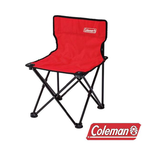 Coleman 吸震摺椅/紅/CM-26845 折疊椅|休閒|露營|戶外
