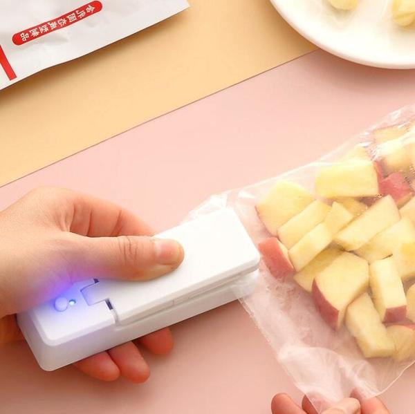 封口機 充電式封口機小型家用包裝塑封機迷你便攜零食塑料袋手壓密封神器【快速出貨國慶八折】