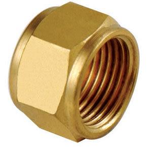 水電材料 風壓接頭 氣壓缸用 快速接頭 風用 銅接頭 螺帽 6 m/m