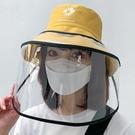 防飛沫 防控用品隔離防護面罩裝備防飛沫防護帽裝備頭罩遮臉全臉透明
