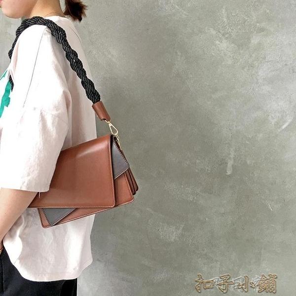 上新小包包女夏季新款韓版時尚簡約高級感包包小眾潮牌ins斜背包 【全館免運】