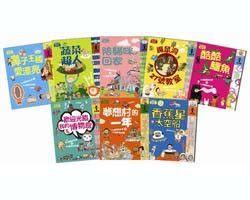 書立得-我的故事,我愛知識:孩子的第一套橋梁故事+知識書(共8冊)