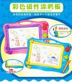兒童畫板磁性彩色寶寶幼兒園涂鴉畫畫板家用畫寫板玩具igo 夏洛特居家
