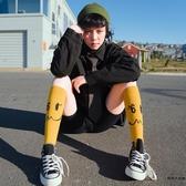 小腿襪中長襪子女潮中筒薄款及膝襪學院風長筒襪【時尚大衣櫥】
