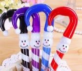 聖誕拐杖造型原子筆 雨傘筆 創意禮品贈品-艾發現