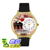[美國直購 ShopUSA] 手錶 Whimsical Watches Unisex Music Teacher Black Skin Leather #G0510001 $2068