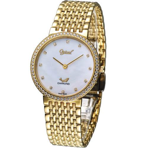 Ogival 愛其華薄型尊榮腕錶 385022DM