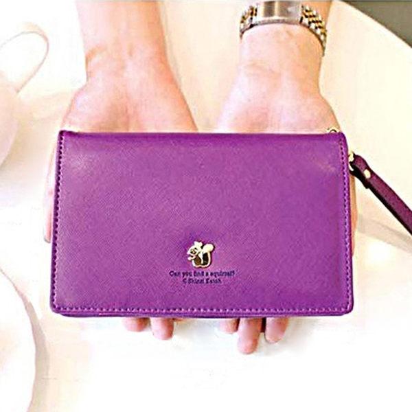 短夾 皮夾 (6色) 韓版多功能短版手機包 手機收納包 Samsung iphone 6s 卡片夾 卡包 卡套