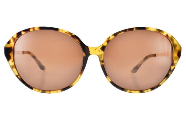 agnes b.太陽眼鏡 AB2818 YD (琥珀) 別緻典雅百搭款 # 金橘眼鏡