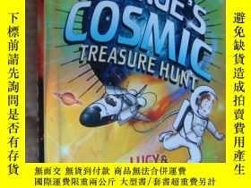 二手書博民逛書店英文原版罕見George s Cosmic treasure h