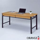 【采桔家居】亞比 時尚5.3尺二抽書桌/電腦桌