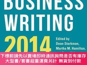 二手書博民逛書店The罕見Best Business Writing 2014Y255174 Dean Starkman ,