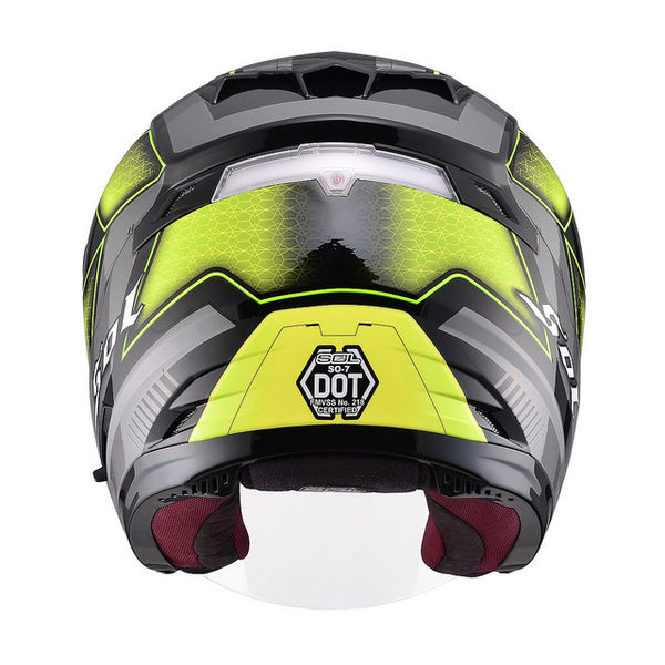 SOL安全帽,SO7,星際/黑黃