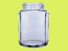 **好幫手生活雜鋪**RP-84扁六角瓶 (箱/24支) --- 玻璃罐.玻璃瓶.醬菜瓶.梅酒瓶.麻油瓶