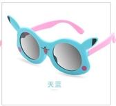 兒童太陽鏡寶寶夏季偏光防紫外線遮陽眼鏡3-12歲男女童卡通墨鏡軟