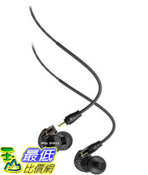 [美國直購] MEE audio M6 PRO 黑灰色 耳機 Universal-Fit Noise-Isolating Musician s In-Ear Monitors with Detachable Cables