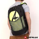 美國AIRWALK - 假面騎士 運動筆電後背包-黑