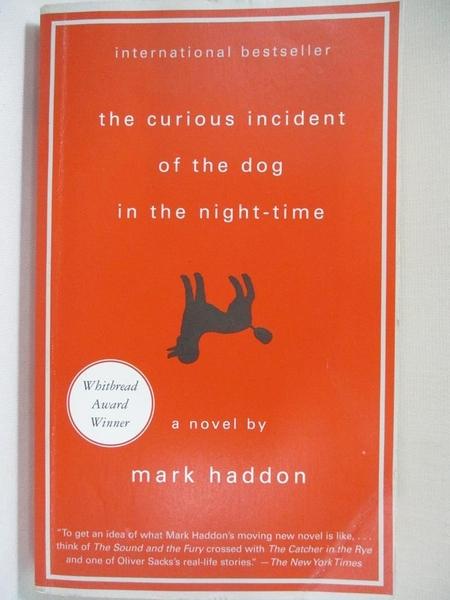 【書寶二手書T1/原文小說_IMO】The Curious Incident of the Dog in the Night_Mark Haddon