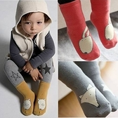 童襪 男女寶寶加厚黃色小狗紅色兔子防滑襪 B6B011
